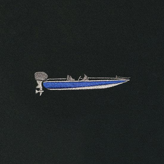 Bass Boat Blue Camo Hat