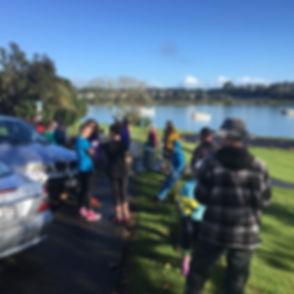 Te Atatu. SOS Riverclean