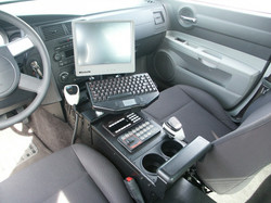 console with computer