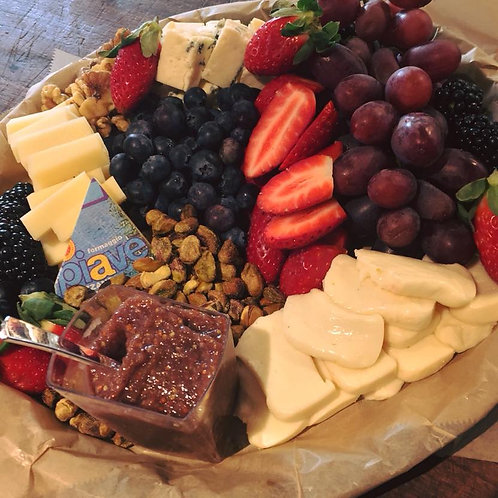 """12"""" Fruit And Cheese"""