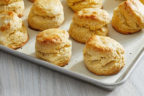 Biscuits & Herb Butter (6)
