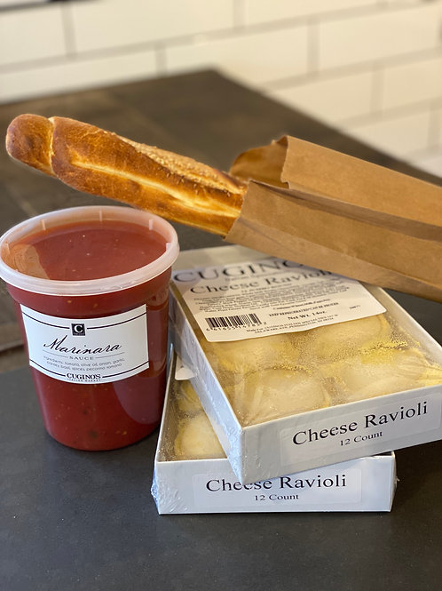 Cheese Ravioli Special