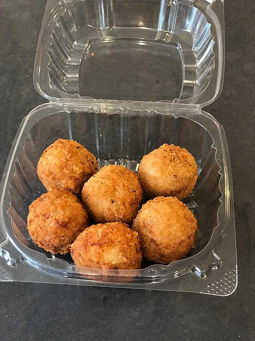 Cheese Rissoto Balls (6)