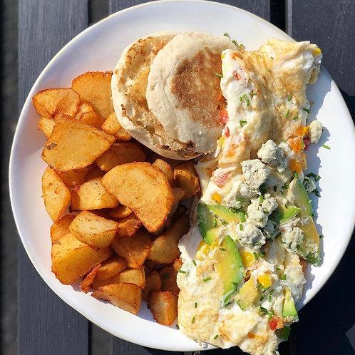 Cobb Egg White Omelette (1)