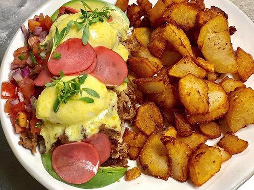 Huevos Rancheros Eggs Benedict (1)