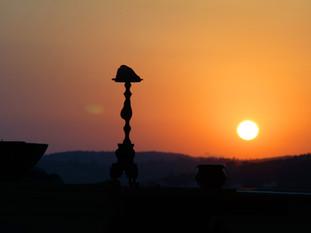 Sunrise at Anandamaya