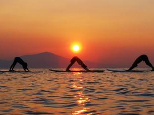SUP Yoga Session