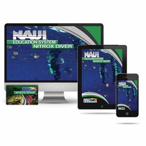 NAUI Nitrox Diver Digital PLUS eLearning Education