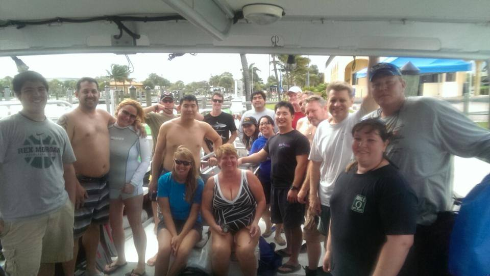 Dive trip in Deerfield Beach FL