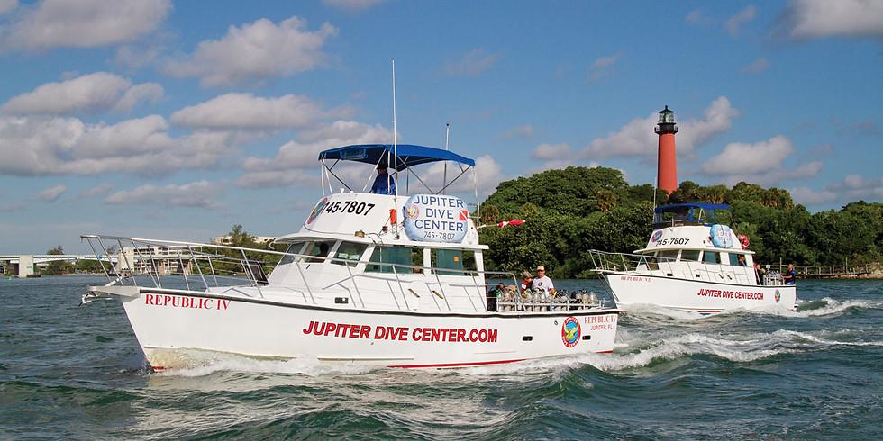 Jupiter Reef Dives and Blue Heron Bridge Group Trip