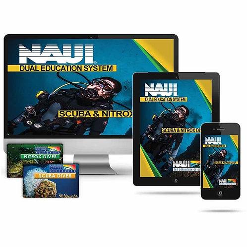 NAUI Scuba Diver with Nitrox Digital PLUS eLearning