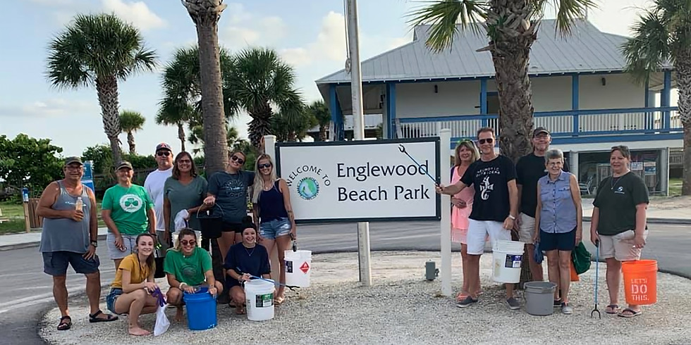 Englewood Beach Cleanup with Adopt-a-Shore