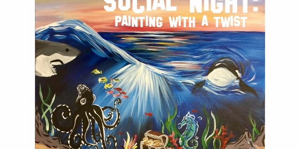 Social Night- Paint Party