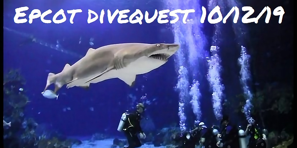 Epcot Dive Quest October 12th, 2019