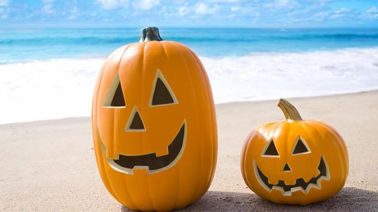Halloween Costume Beach Clean Up