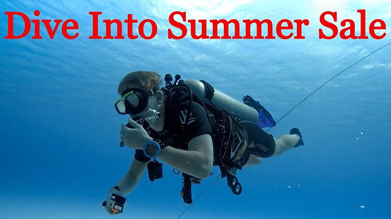 Dive Into Summer Sale