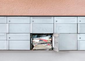 Le dépôt de flyers non sollicités en boîte aux lettres interdit en 2021