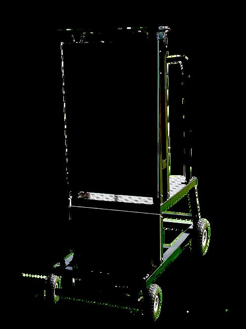 Bowling Machine Stand on Wheels
