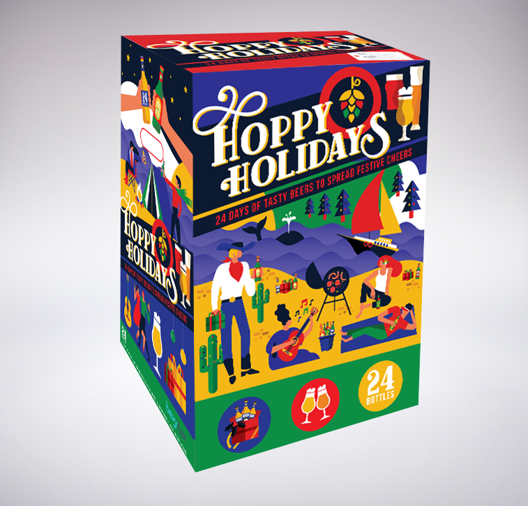Beer Advent Calendar Hoppy Holidays