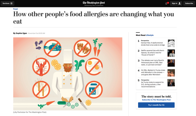 Illustration for the Washington Post
