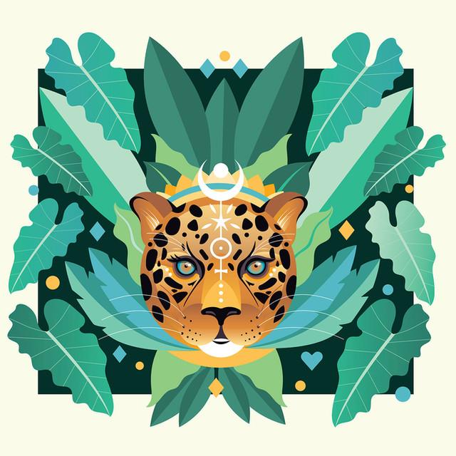 Jaguar Poster Illustration