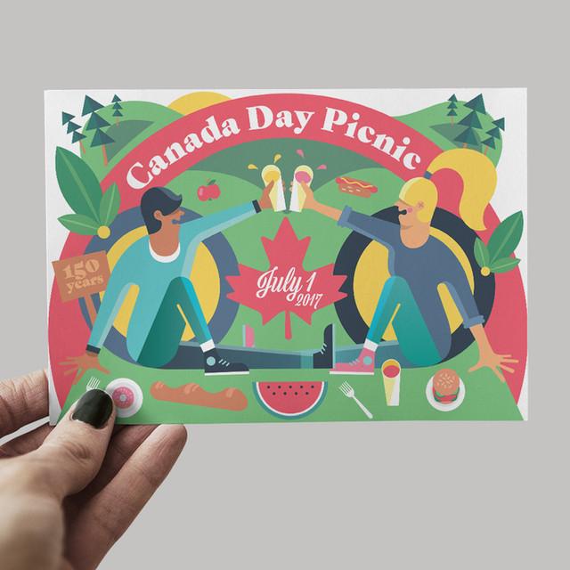 Canada Day Invitation