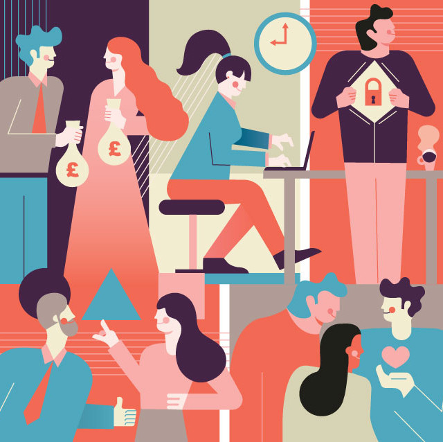 Job Satisfaction | Editorial Illustration
