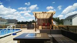 Pool deck & Pergola