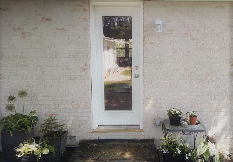 Back porch door