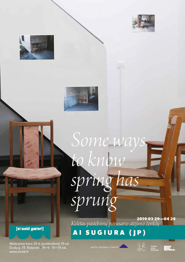 """Solo exhibition """"Some Way to Know Spring Has Sprung"""" at Si:said gallery"""