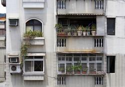 Iron Frame of Window
