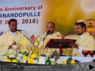 Celebrating the 25th Sacerdotal Ordination Anniversary of Rev. Fr. Samantha Fernandopulle