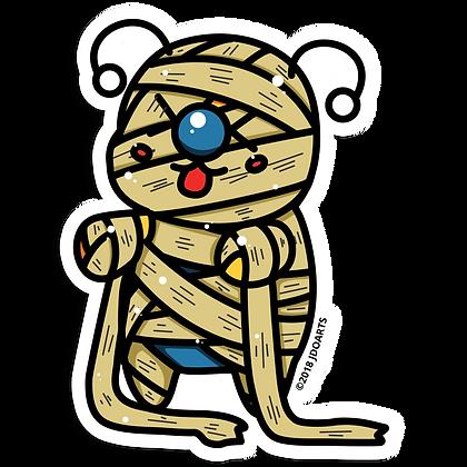 "Spooky Mummy Bae-Bee 3"" Vinyl Sticker"
