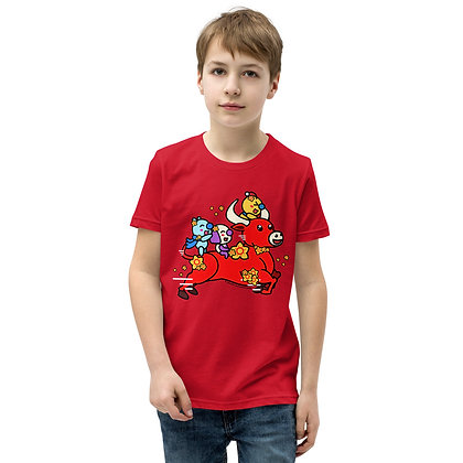 Children's Short Sleeve T-Shirt- Lunar New Year 2021 Ox Shirt