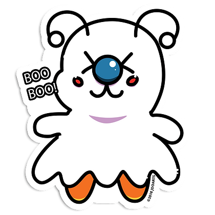 "Spooky Boo Bae-Bee 3"" Vinyl Sticker"