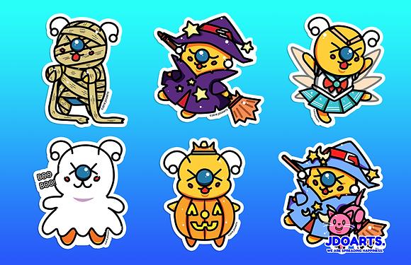 Bae-Bee Halloween 1 Character Poster 11x17