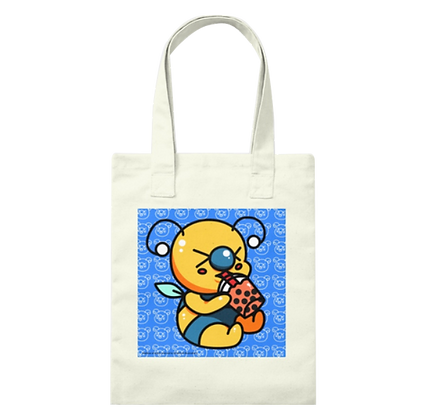 Boba Lover Bae-Bee Canvas Tote Bag