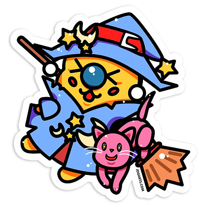 Wizard Bae-Bee Vinyl Sticker 3""