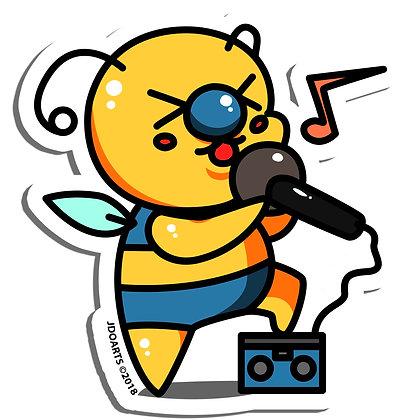 "Idol Bae-Bee Vinyl Sticker 3"""