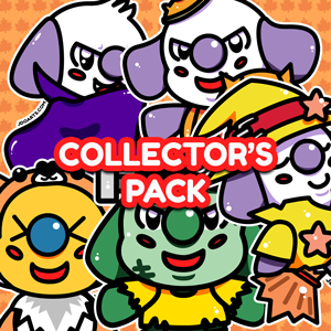 "SPOOKY Halloween Collector's Pack of Glossy Stickers 3"" by JDoArts"