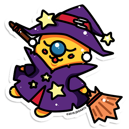 "Spooky Witchy Bae-Bee 3"" Vinyl Sticker"