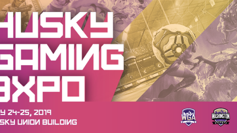 Husky Gaming Expo 2019 at University of Washington