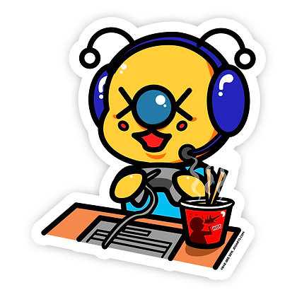 Gamer Bae-Bee Vinyl Sticker 3""