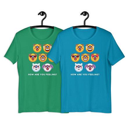 Adult Bae-Bee Emoji How Are You Feeling? Unisex T-Shirt