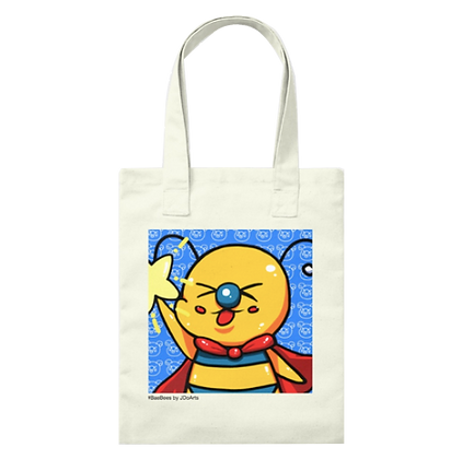 Happy Star Bae-Bee Canvas Tote Bag