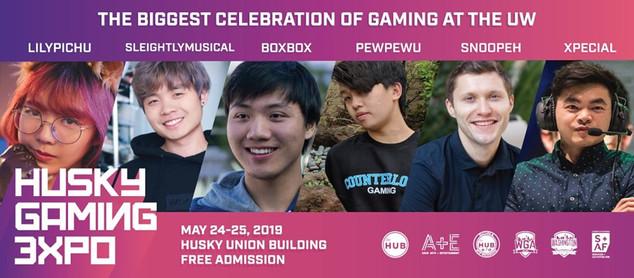 Husky Gaming Expo