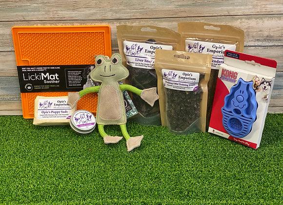 Opie's Puppy gift set