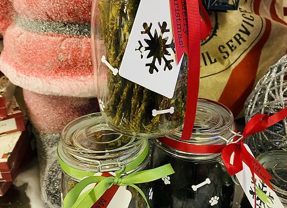 Christmas Treat Jar - Large