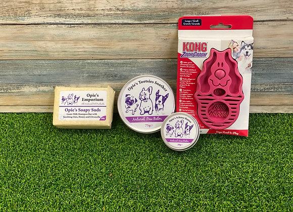 Opie's Natural Grooming gift set