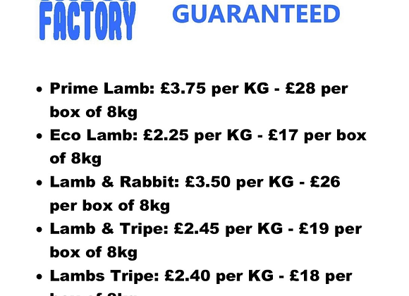 The Raw Factory - Lamb